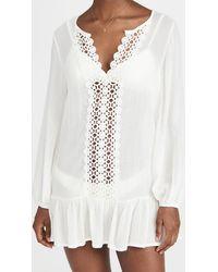 Eberjey Summer Of Love Elba Cover Up - White