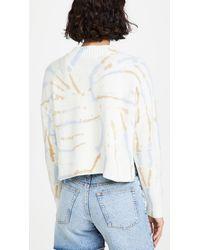 Madewell Tie Dye Cardigan - Multicolour