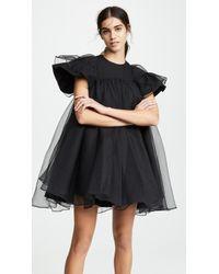 ShuShu/Tong Double Layer Dress - Black