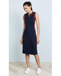 Tory Sport - Sleeveless Track Dress - Lyst