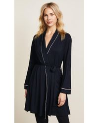 Eberjey - Gisele Classic Robe - Lyst