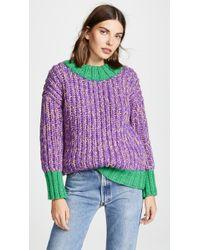 Novis - Tucker Hand Knit Boyfriend Sweater - Lyst