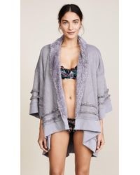 Honeydew Intimates - Hold Me Tight Reversible Wrap Cardigan - Lyst