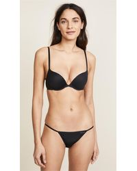 Calvin Klein Perfectly Fit Memory Touch Push Up Bra - Natural