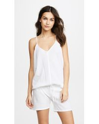 9seed - Corsica Cover Up Romper - Lyst
