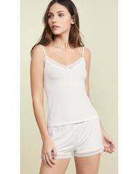 Only Hearts Feather Weight Cami - White