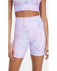 Beach Riot Bike Shorts - Purple