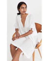 9seed Antibes Dress - White