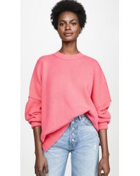 Free People Easy Street Tunic Jumper - Pink
