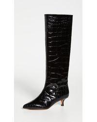 Tibi Collier Boots - Black