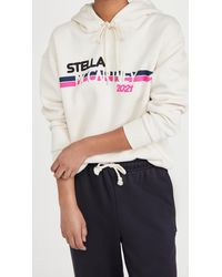 Stella McCartney Moto Logo Print Hoodie - Multicolour