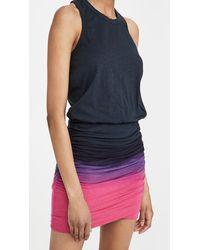 Sundry Gradient Dress - Blue