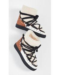 Inuikii - Curly Rock Shearling Sneaker Boots - Lyst