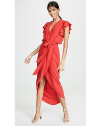 Amanda Uprichard Martinique Dress - Red