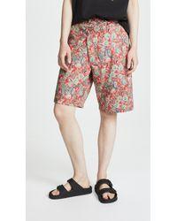 R13 - Crossover Shorts - Lyst