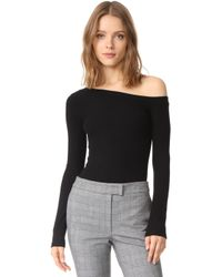 Getting Back to Square One - One Shoulder Pullover - Lyst
