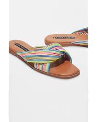 Alice + Olivia Coree Slides - Multicolor