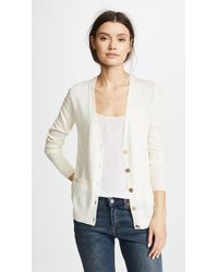 Tory Burch - Relaxed V Neck Cardigan - Lyst