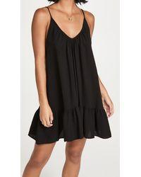 9seed St. Tropez Mini Dress - Black