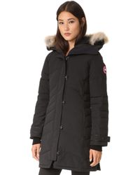 Canada Goose - Victoria Down Parka With Genuine Coyote Fur Trim - Lyst