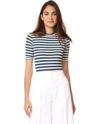 Capulet - Sandra Striped Bodysuit - Lyst
