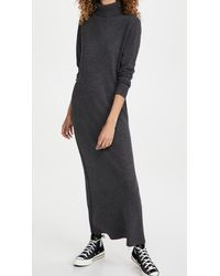 Nili Lotan Cassandra Cashmere Dress - Grey