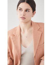 KALAN by Suzanne Kalan Baguette Necklace - Pink