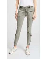 Blank NYC - Utility Pants With Zips - Lyst