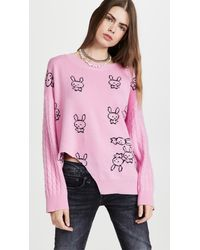 Natasha Zinko Pullover Sweater - Pink