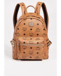 MCM Mini Stark Backpack - Multicolour