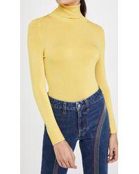 JoosTricot Long Sleeve Turleneck - Yellow