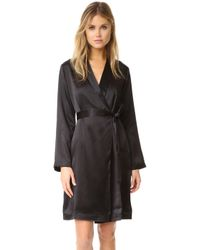 La Perla - Silk Short Robe - Lyst