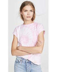 RE/DONE Classic Tie Dye Tee - Pink