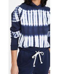 Madewell Tie Dye Hoodie - Blue