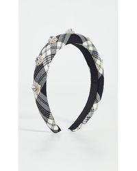 Jennifer Behr Devina Headband - Black