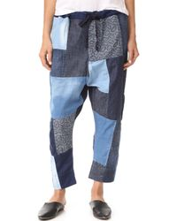 PRPS - Patchwork Jogger Trousers - Lyst