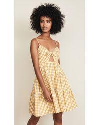 English Factory - Gingham Dress - Lyst