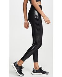 Ultracor Ultra High Crocodile Leggings - Black