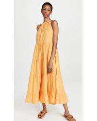 RHODE Julia Dress - Orange