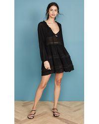 Eberjey Summer Of Love Sofia Dress - Black