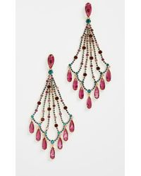 Kate Spade - Cascade Statement Earrings - Lyst