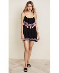 Tiare Hawaii Holter Mini Dress - Black