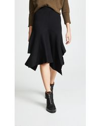 Edition10 - Knitted Skirt - Lyst