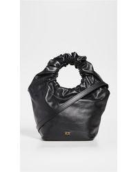FRAME Le Scrunch Mini Bag - Black