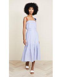 Red Carter Ayala Dress - Blue