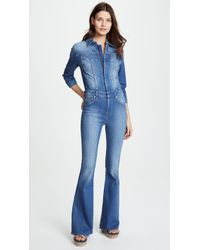 Hudson Jeans - Holly Long Sleeve Jumpsuit - Lyst