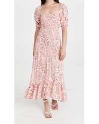 MISA Los Angles Gemma Dress - Pink