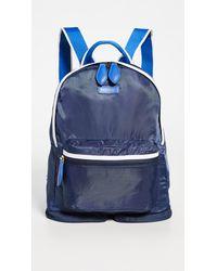 Paravel Mini Fold Up Backpack - Blue