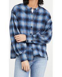 Rebecca Minkoff Nellie Shirt - Blue