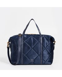 Deux Lux - Fiona Quilted Weekender - Lyst